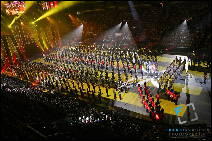 Quebec City Military Tattoo at the Quebec City International Festival of Military Bands
