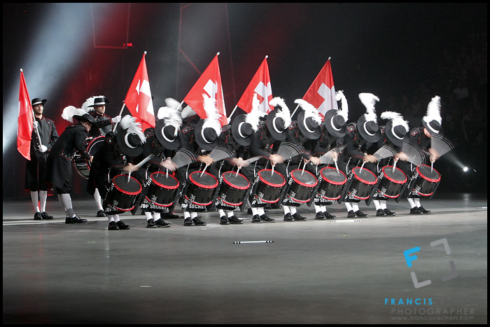 Switzerland Top Secret Drum Corps at the Quebec City International Festival of Military Bands