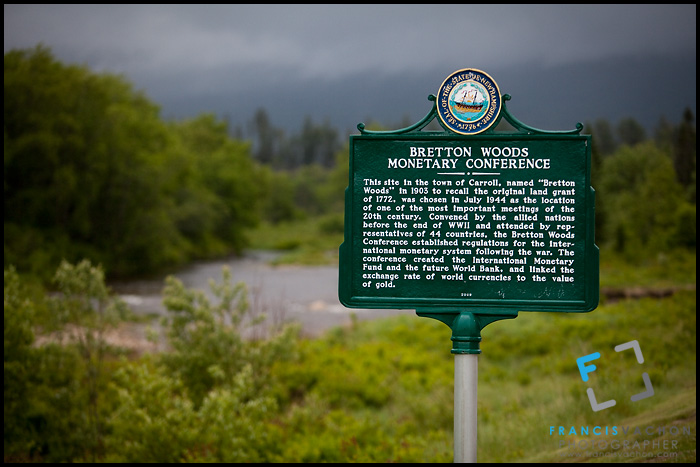 Bretton Woods Monetary Conference marker