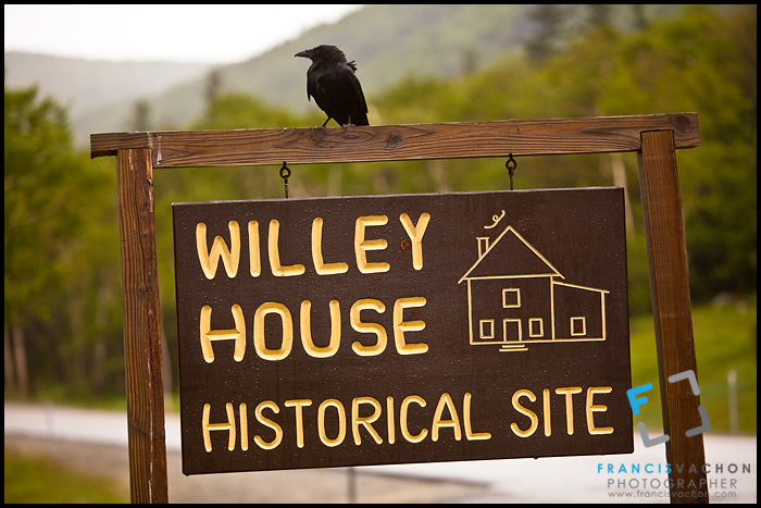 Willey House historical Site, Crawford Notch State Park