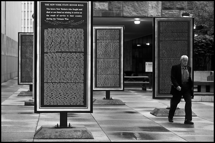 New York State Vietnam memorial in Albany