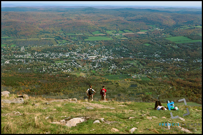 Berkshire county from Mount Greylock summit