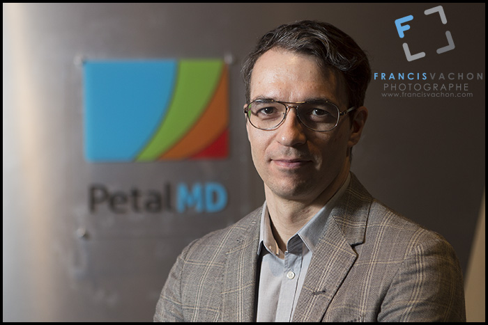 Patrice Gilbert, CEO of PetalMD