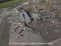 Quebec City Jean Lesage International Airport aerial photo